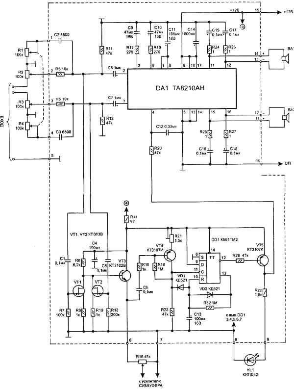 Электрическая схема такого