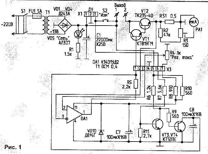стабилизатор тока на